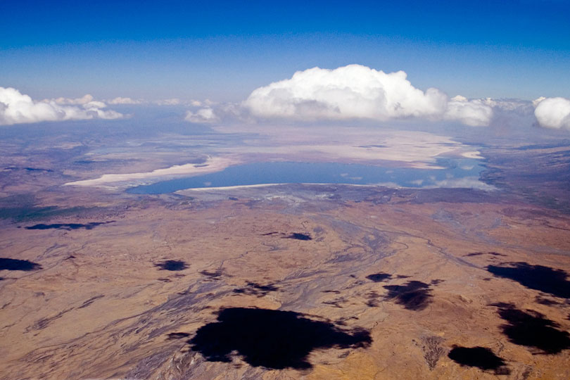 Lake Natron is a salt lake in the eastern branch <p>of the East African Rift in northern Tanzania